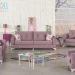 Kilim mobilya lila renk koltuk takımı