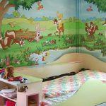 3d duvar kağıtları ile çocuk odası dekorasyonu