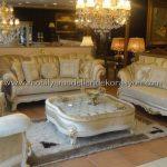 Altın yaldızlı koltuk takımı modelleri 3