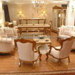 Altın yaldızlı koltuk takımı modelleri 4