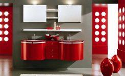 Aynalı Banyo Dolabı Takımı Modelleri Lavabo Üstü
