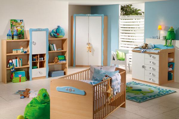 Bebek odası dekorasyonu için öneriler 6
