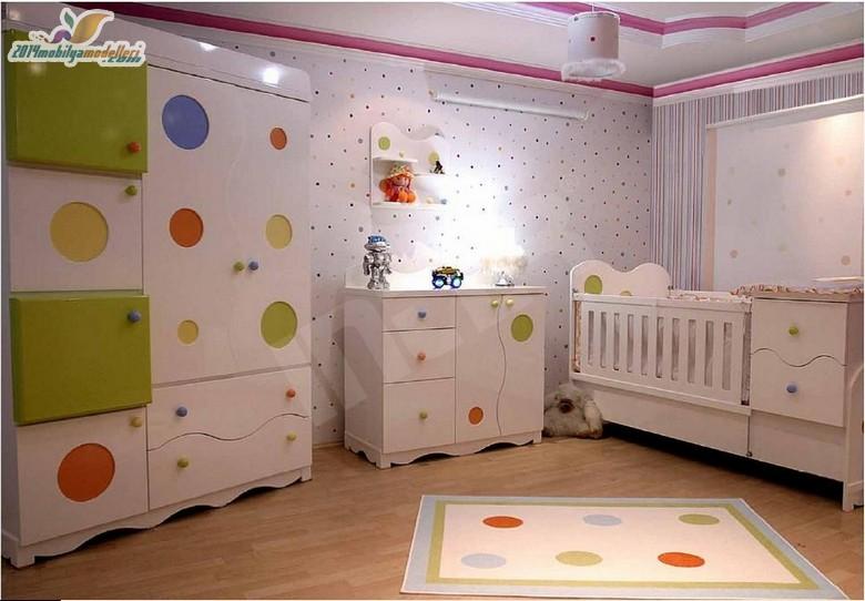Birbirinden Şık Bebek Odaları 1