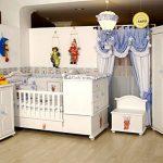 Modern bebek odası takımı