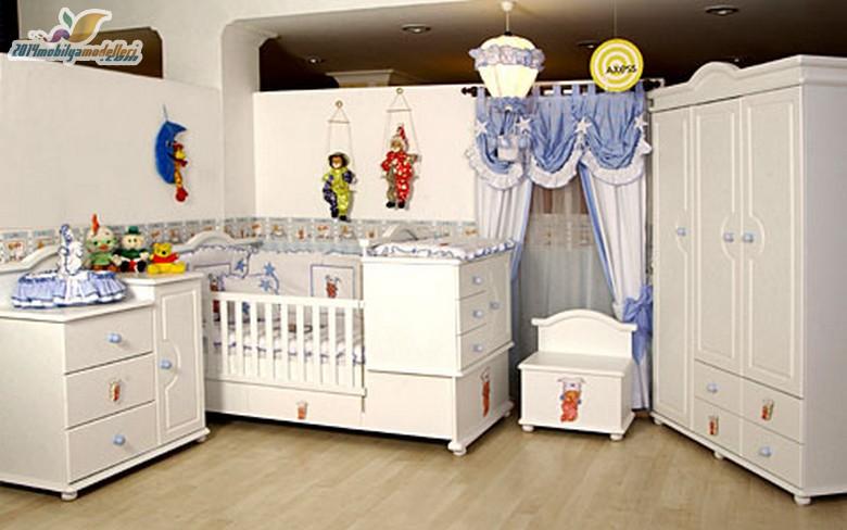 Birbirinden Şık Bebek Odaları 10