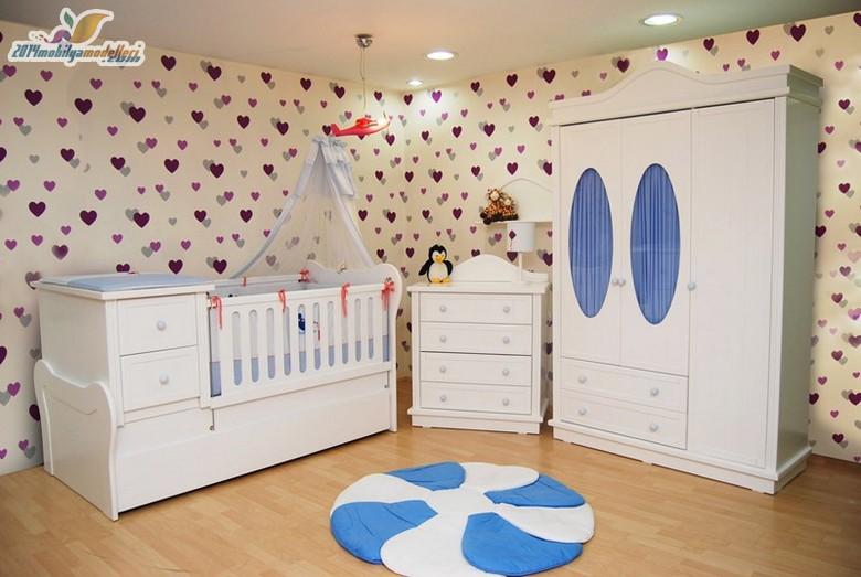 Birbirinden Şık Bebek Odaları 12