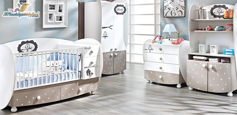 Birbirinden Şık Bebek Odaları 13