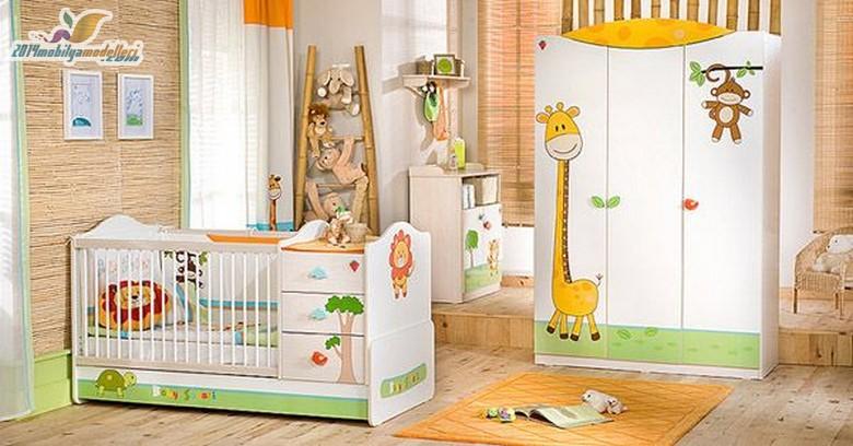 Birbirinden Şık Bebek Odaları 14