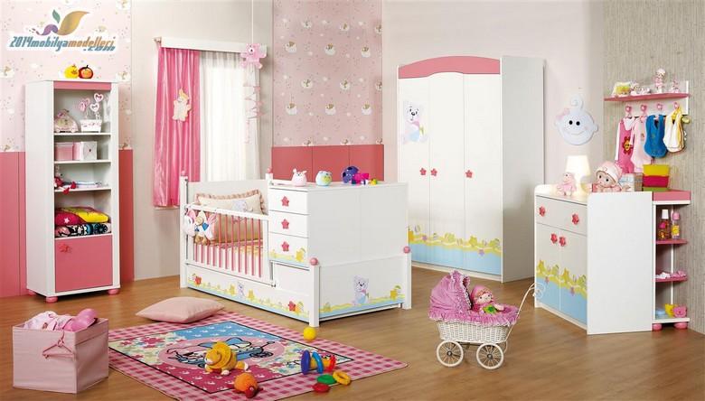 Birbirinden Şık Bebek Odaları 6