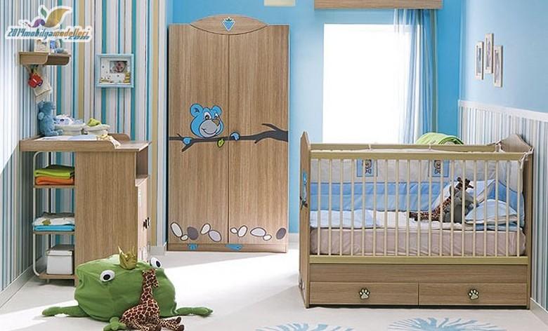 Birbirinden Şık Bebek Odaları 8