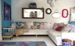 Bohem tarzı yatak odası dekorasyonu