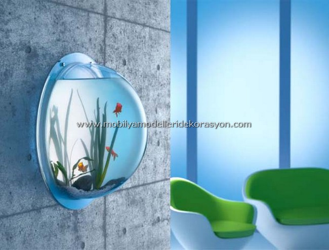 Dekoratif Akvaryum Modelleri 6