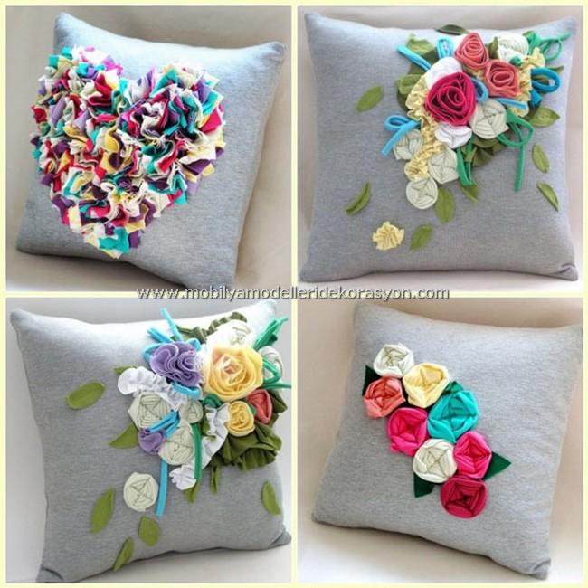Dekoratif Yastık Modelleri 2