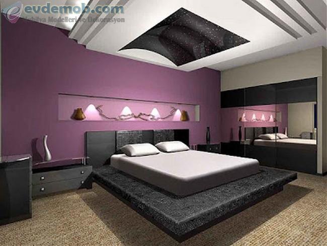 Geniş Yatak Odası İçin Dekorasyon Fikirleri 0