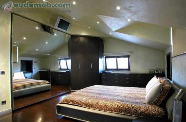 Geniş Yatak Odası İçin Dekorasyon Fikirleri 2