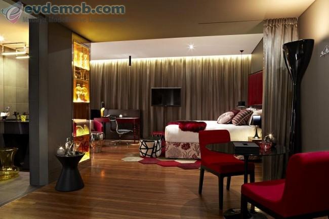 Geniş Yatak Odası İçin Dekorasyon Fikirleri 6