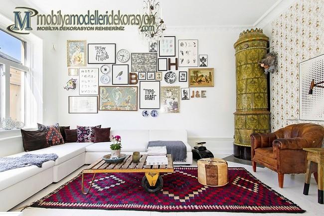İskandinav Stili Dekorasyon Örnekleri 1