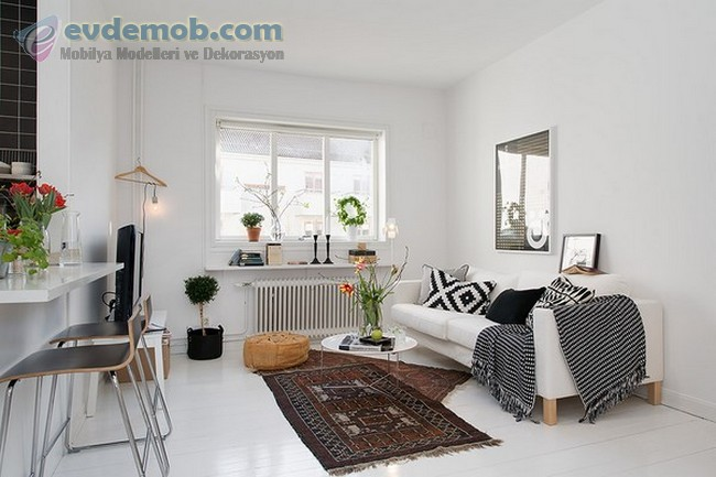 İskandinav Tarzında Ev Dekorasyon Fikirleri 0