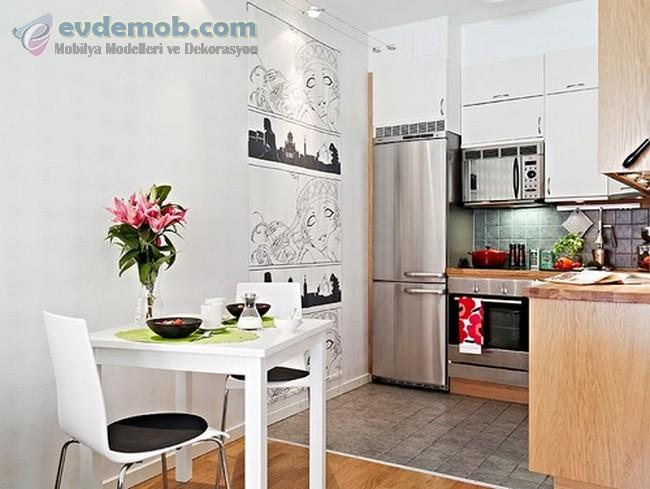 Mutfak Dekorasyonu Fikirleri 1