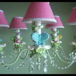 Pembe avize modelleri çocuk odası