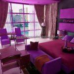 Romantik yatak odası dekorasyonu 11