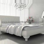 Romantik yatak odası dekorasyonu 13