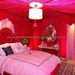Romantik yatak odası dekorasyonu 14