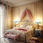 Romantik yatak odası dekorasyonu 2