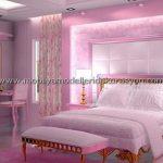 Romantik yatak odası dekorasyonu 6