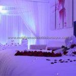 Romantik yatak odası dekorasyonu 7