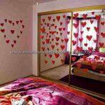 Romantik yatak odası dekorasyonu 8