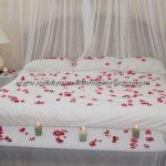 Romantik yatak odası dekorasyonu 9