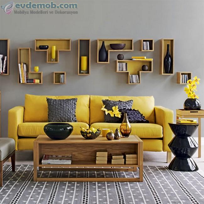 Sarı Ev Dekorasyon Fikirleri 1