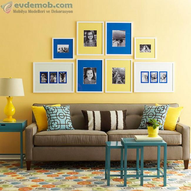 Sarı Ev Dekorasyon Fikirleri 2