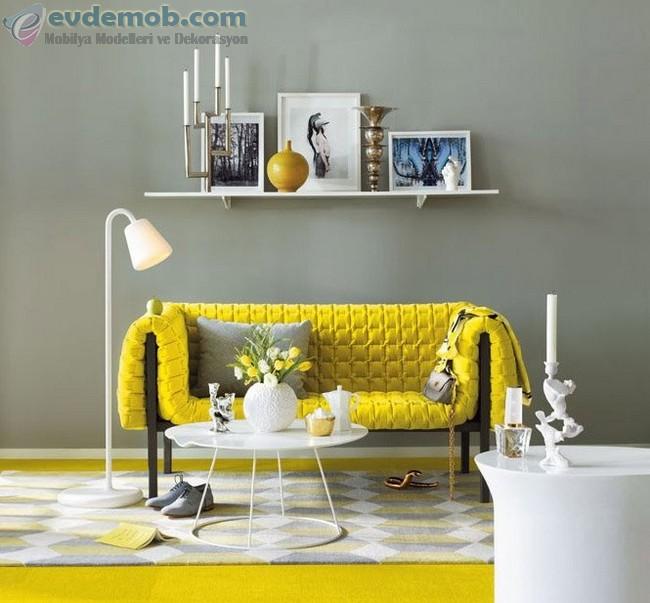 Sarı Ev Dekorasyon Fikirleri 3