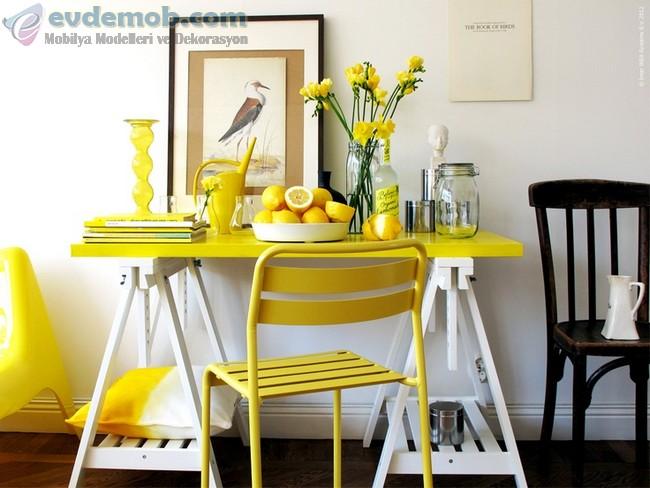 Sarı Ev Dekorasyon Fikirleri 5