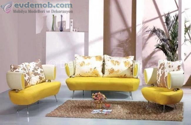 Sarı Ev Dekorasyon Fikirleri 8