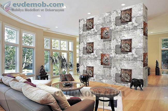 Üç Boyutlu Duvar Kağıdı Modelleri 6