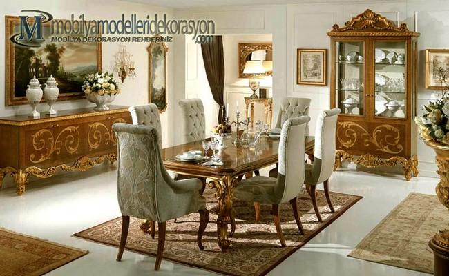 Vintage Yemek Odası Modelleri 6