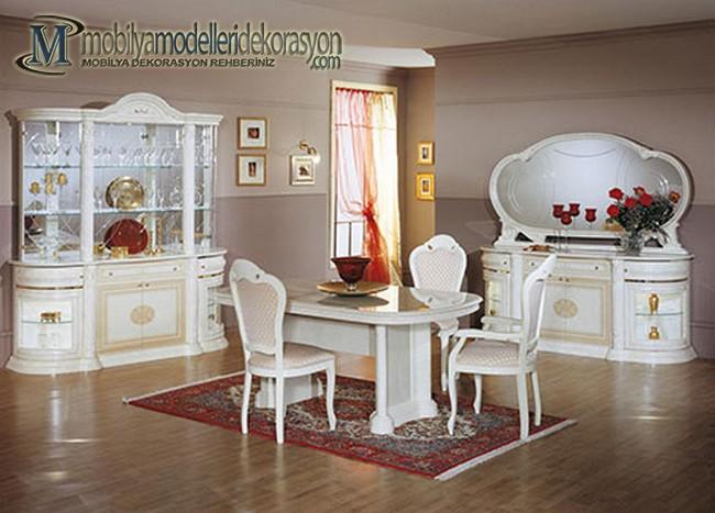 Vintage Yemek Odası Modelleri 7