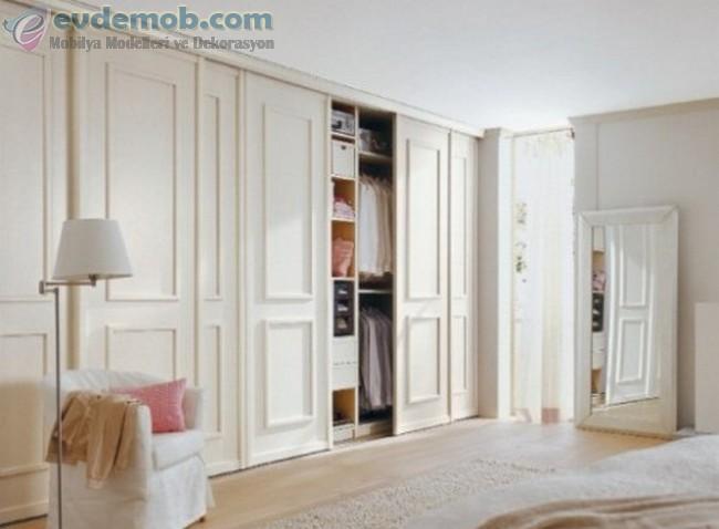 Yatak Odası İçin Gömme Dolap Modelleri