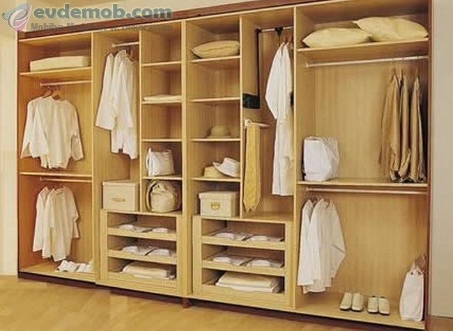 Yatak Odası İçin Gömme Dolap Modelleri 8