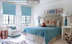 Yatak odası fon perde modelleri