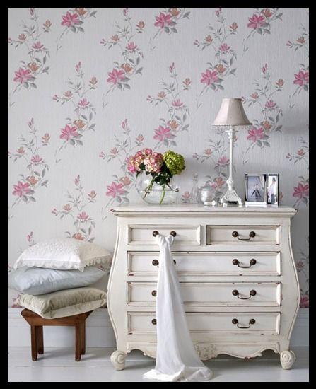 Koçtaş çiçekli duvar kağıdı