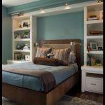 Mavi yatak odası dekorasyon fikirleri
