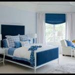 Mavi yatak odası örnekleri
