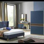 Mavi yatak odası takımları