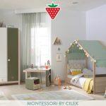 Montessori by cilek serisi cocuk odasi takimi