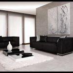 Siyah koltuk takımı modelleri