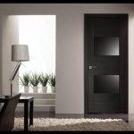 Siyah oda kapıları